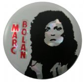 Marc Bolan - 'Marc' Prismatic Button Badge